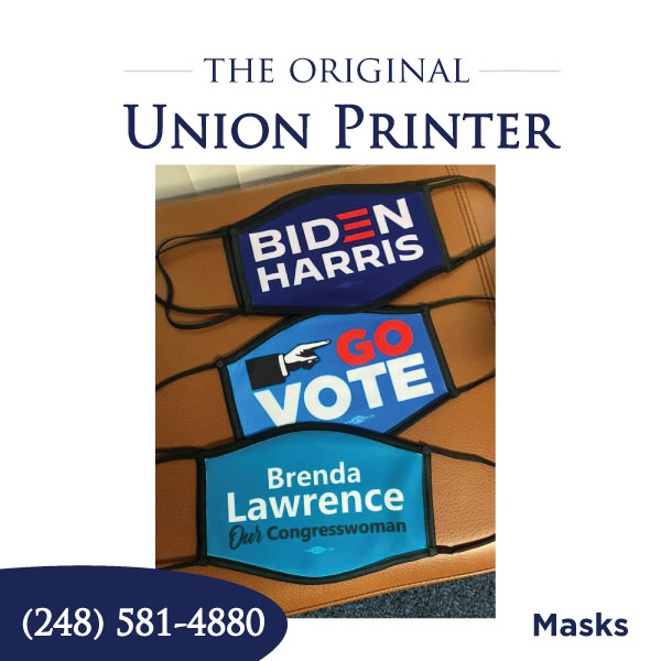Union Printed Masks