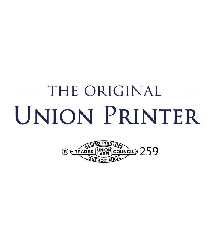 We're Union Printers!