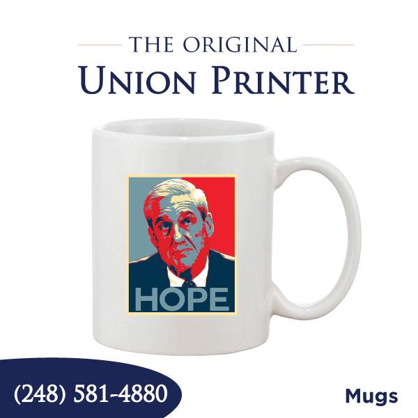 Union Printed Coffee Mugs
