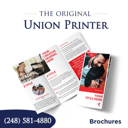 Trifold Brochures - 8.5x11